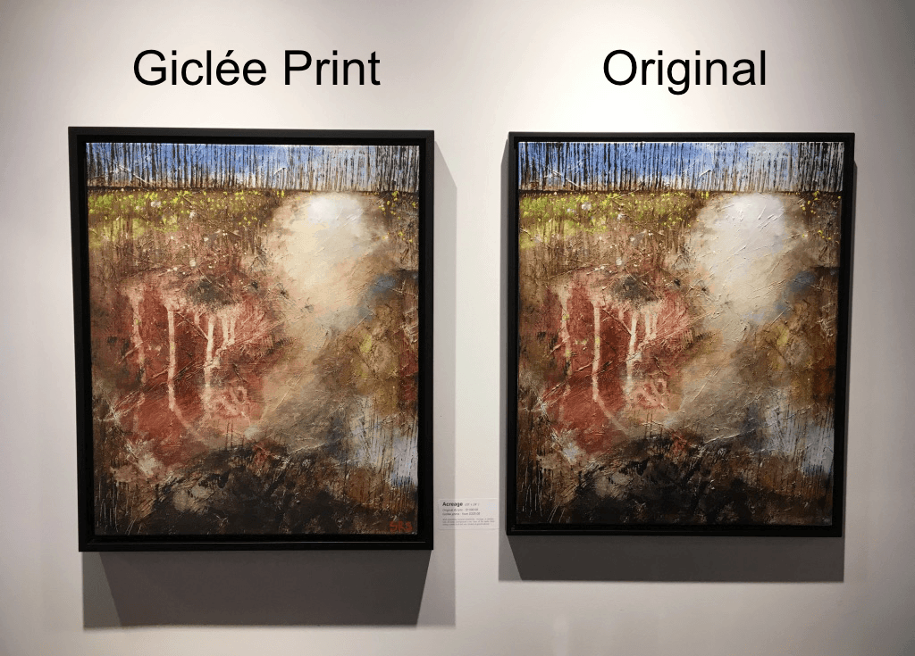 Giclee Print VS Original Painting