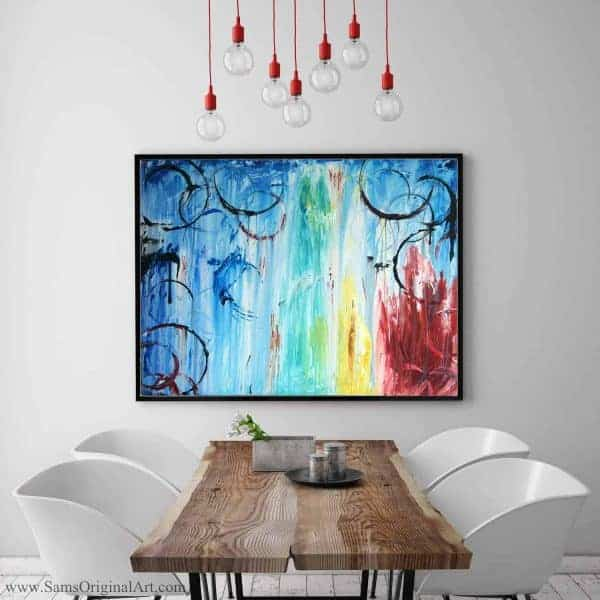 Abstract Giclee Print Vancouver