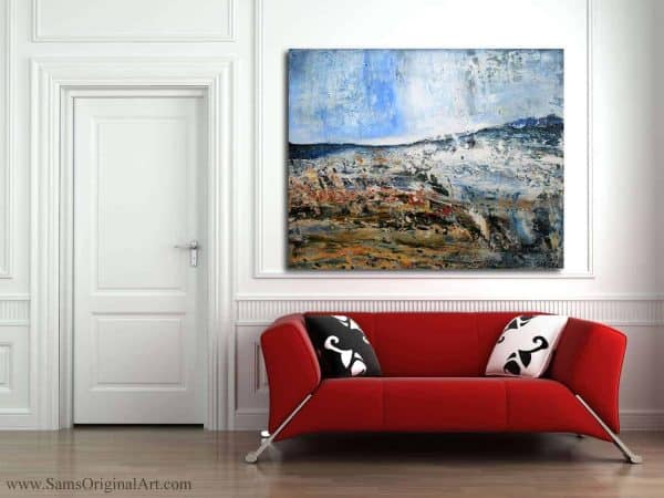 large abstract paintings prints canvas