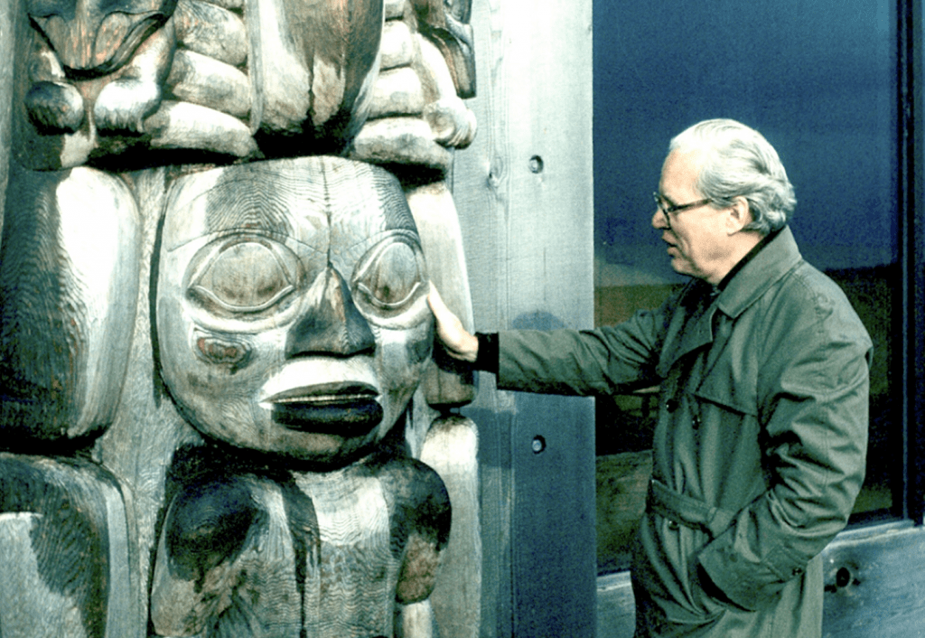 Reid's Haida influence is seen in all his work