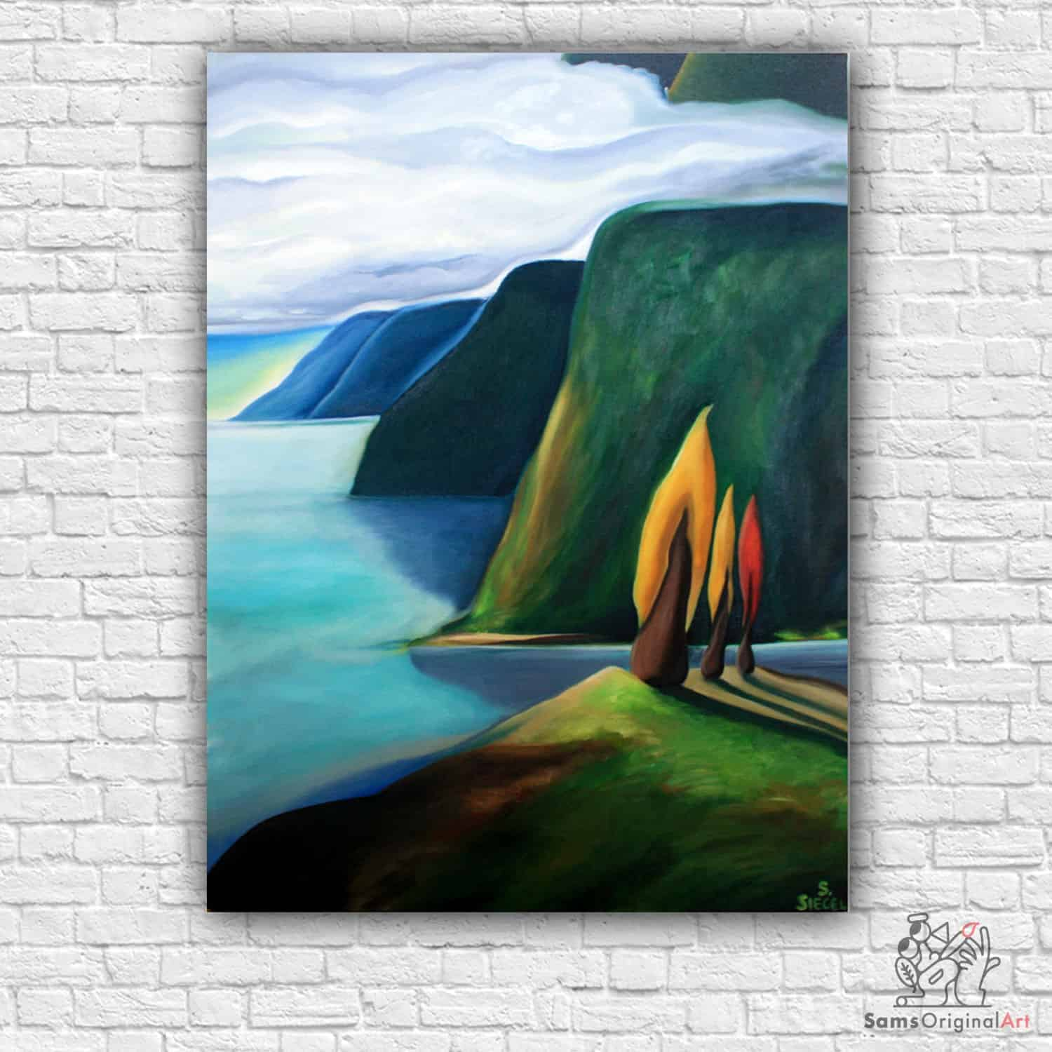 paintings of howe sound