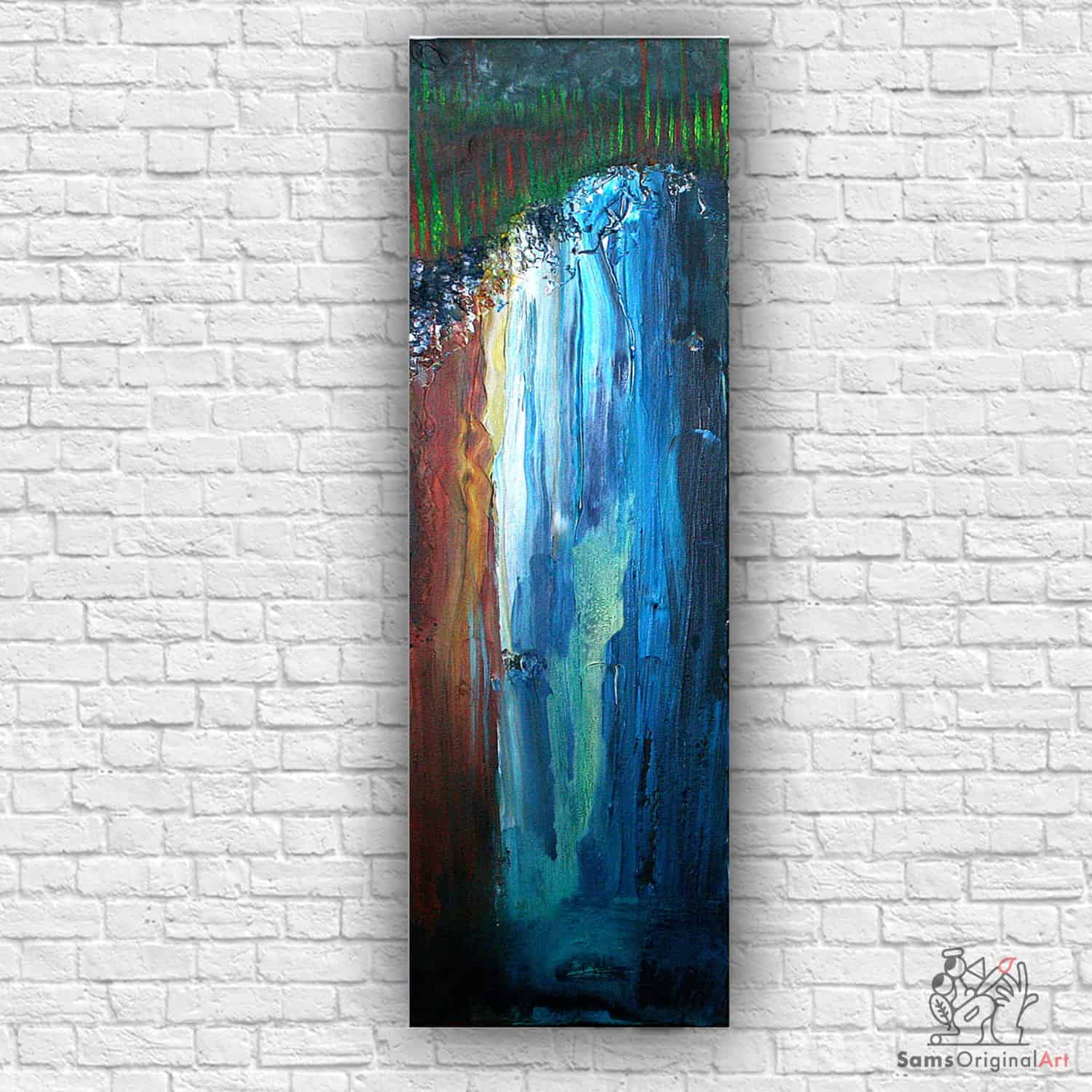 waterfall painting vancouver