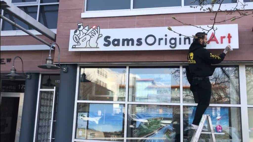 Sams Original Art - Modern abstract Art Gallery Vancouver