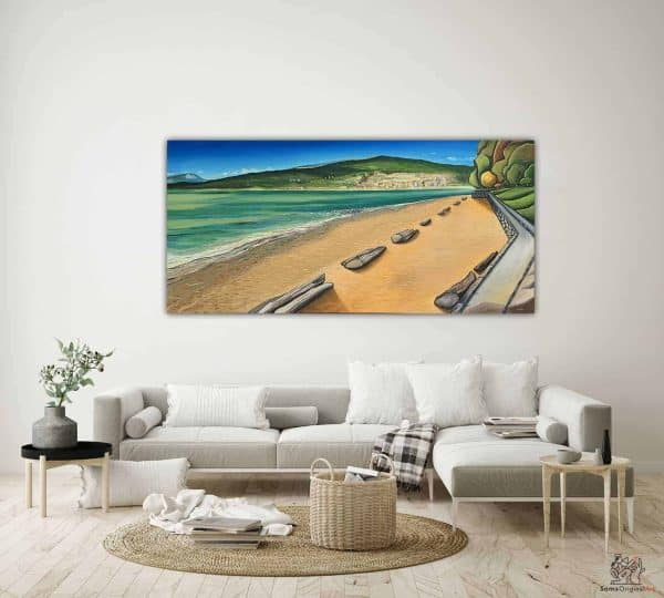 Third Beach Painting