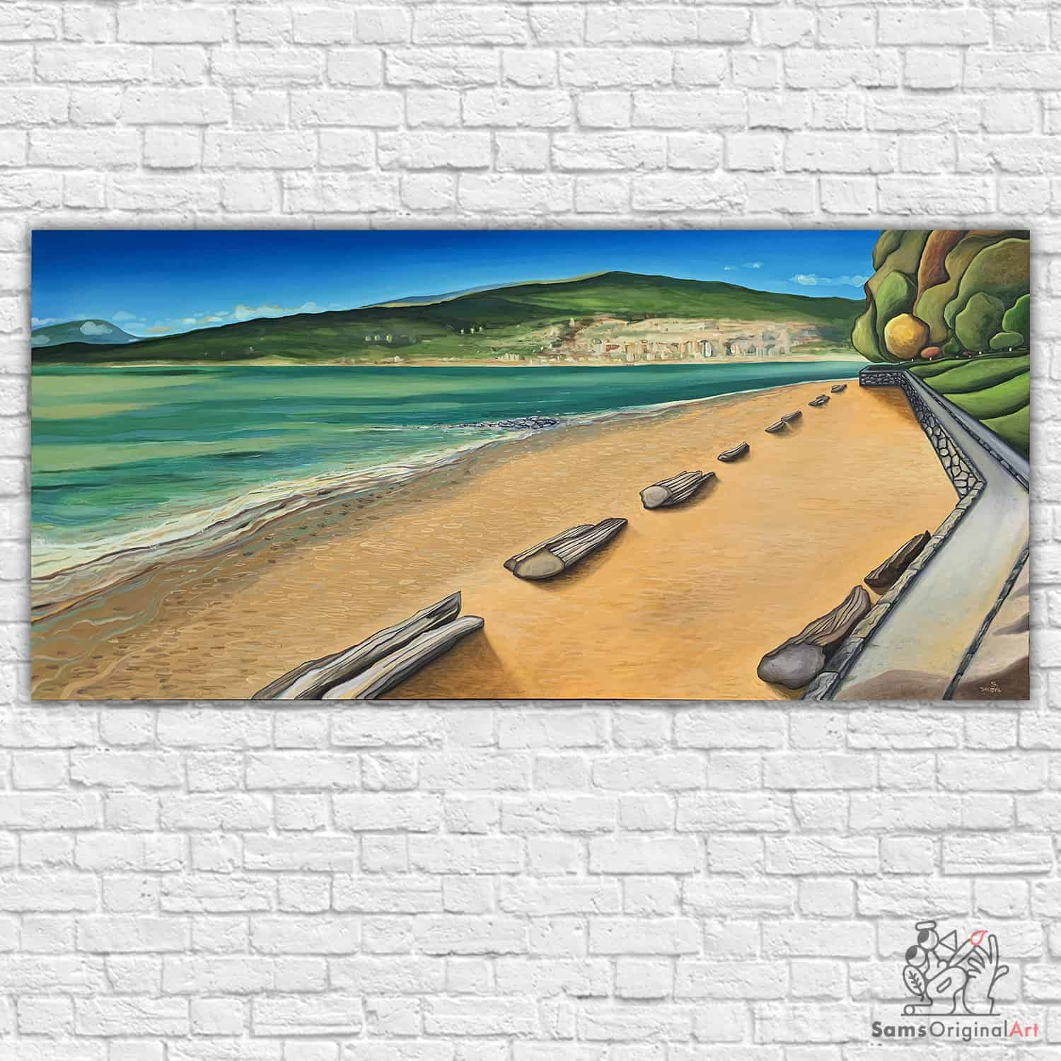 painting of Third Beach