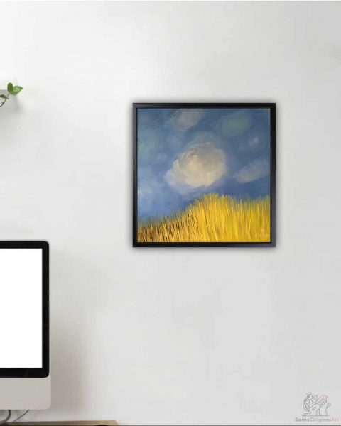 small modern wall art for offices