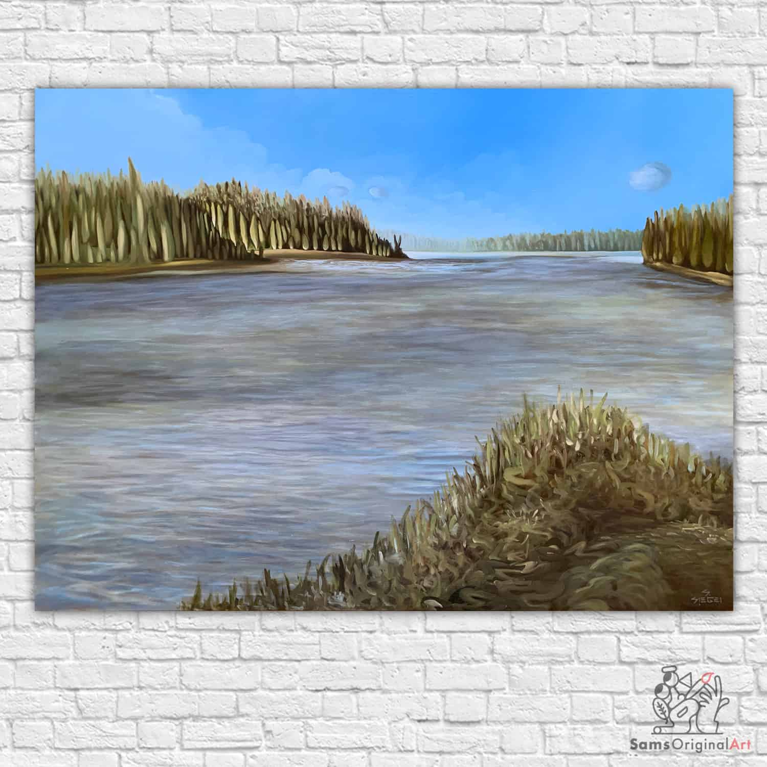 Buy Modern Lake Paintings