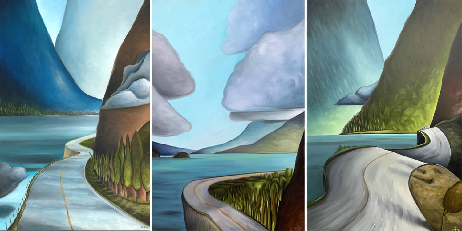 sea to sky paintings
