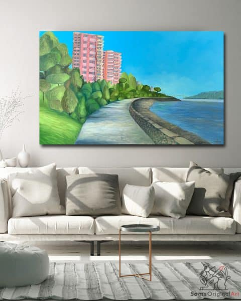 Pink Palace Painting Vancouver