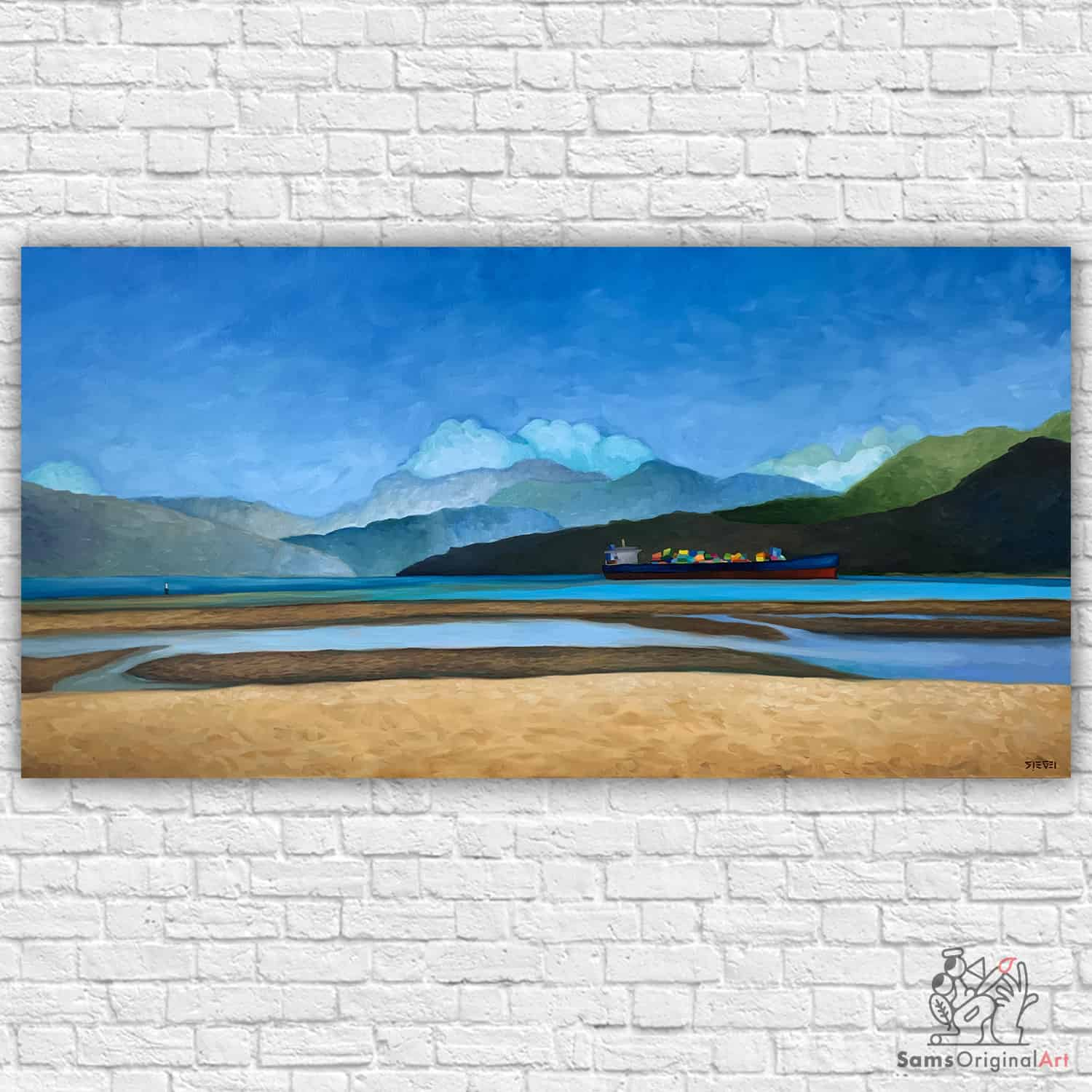 Spanish Banks Beach Painting