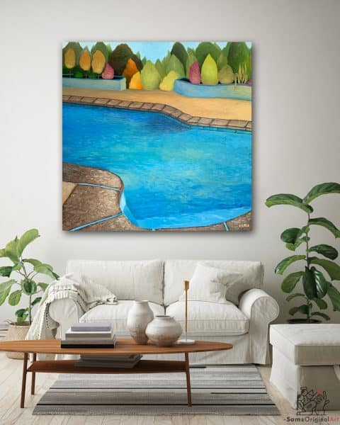 Swimming Pool Paintings