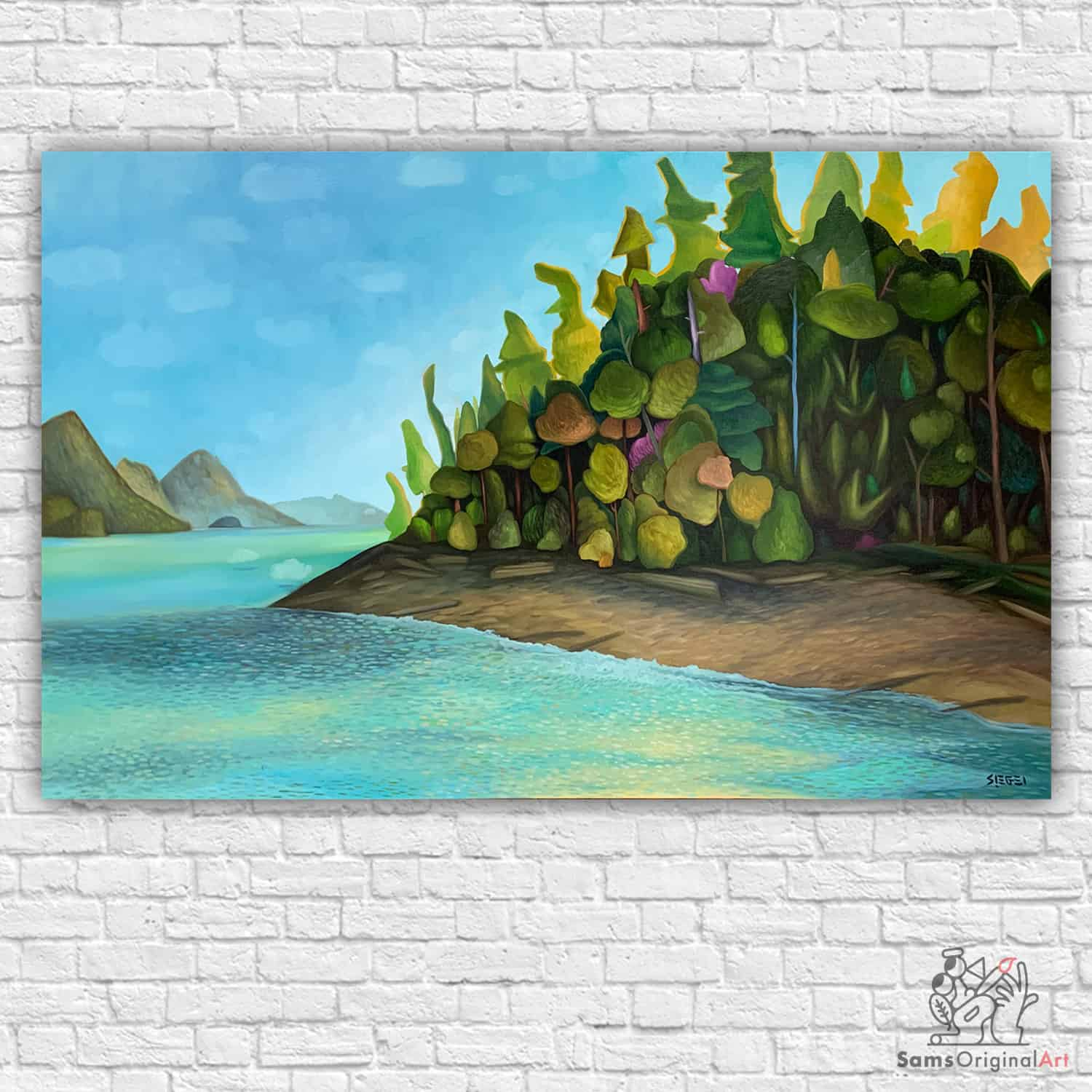 Vancouver Island Painting