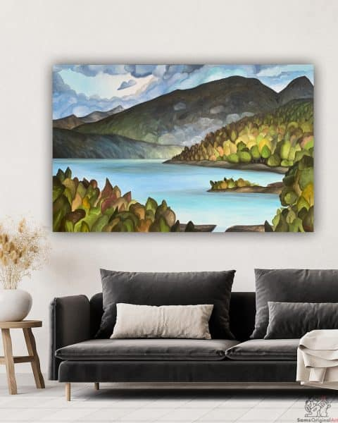 Port Moody Inlet Painting